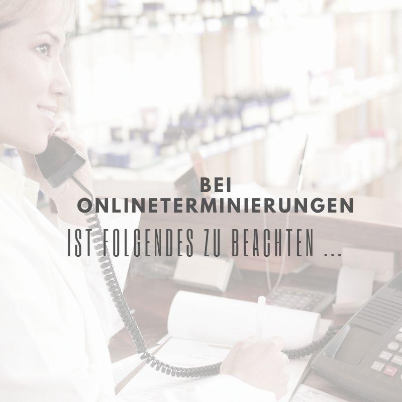 Online Terminierung